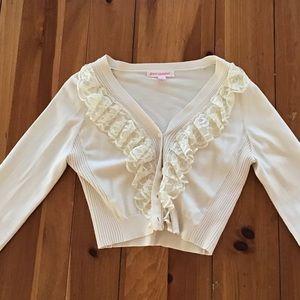 Betsey Johnson Cardigan Sweater